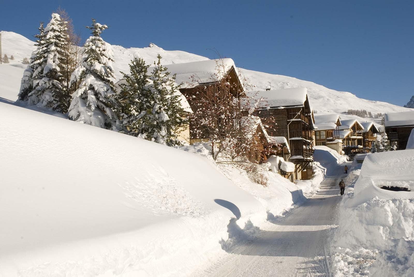 Ski à Saint Véran Queyras