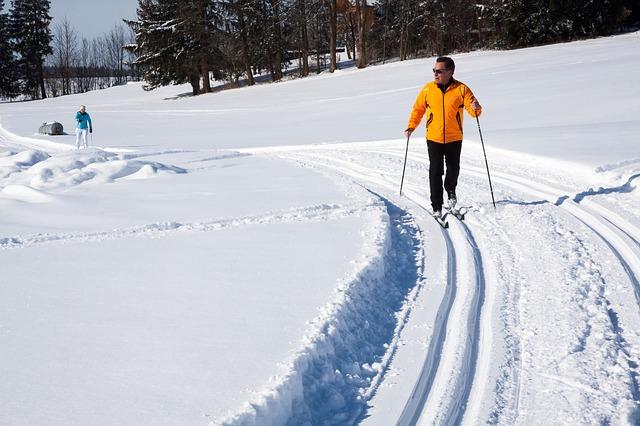 Ski de fond à Saint veran